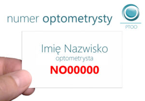 Numer Optometrysty